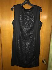 R&M Richards NEW Black Women Sheath Dress 14
