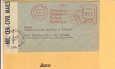 AB / HAMBURG 33 Werkzeugmasch. Heidenreich & Harbeck 21.12.45, aptierter Reichsp