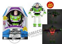 "Disney Store Toy Story 4 BUZZ LIGHTYEAR INTERACTIVE TALKING 12"" FIG 2019 PIXAR"
