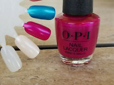 Opi Nail Polish Flashbulb Fuchsia Nl B31 Shimmery Purple Pink! New!