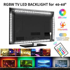 WIFI 6.56ft RGB LED TV Back Light Strip USB w/ Remote Music Control Atmosphere