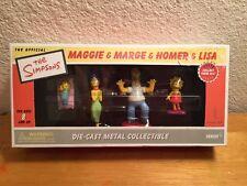 The Simpsons Die-cast Metal Collectible 2002 Series 1 Maggie,Marge,Homer, Lisa