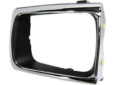 New Chrome Headlight Door Bezel Trim Grille 4WD Type Left LH Driver Side