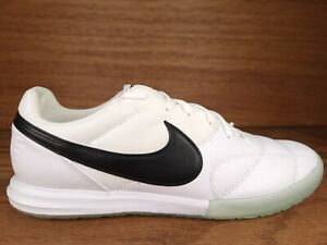 Nike Premier II Sala IC Men's Indoor Court Soccer Shoes White AV3153-101 Sz 10