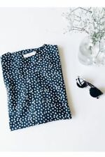 Collar Polka Dot Machine Washable Dresses for Women
