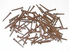 "100 Vintage Square Nails 1 1/4"" New Old Stock"
