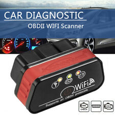 Car WIFI OBD2 OBDII Scan Tool Scanner Adapter Check Engine Light Diagnostic Tool