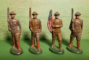 Early Barclay Lead Hollowcast Toy Soldiers 2B Series, 54mm size