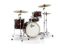 Gretsch Catalina Club 3 Piece Drum Set With 18 Bass Drum - Satin Antique Fade