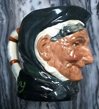 Vtg. Royal Doulton Toby Jug Granny 1 Tooth D5521 Prod. 1968-71 Fine Condition!
