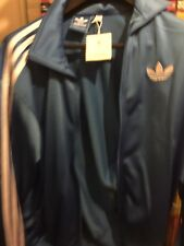 ADIDAS Originals Firebird freshblue Men's Track Jacket Zip Top Blue BNWT MENS