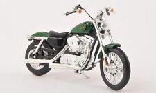 Motocicletas y quads de automodelismo y aeromodelismo crucero de escala 1:18