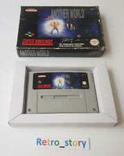 Super nintendo snes-another world-pal-fah