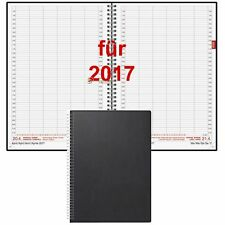 Brunnen Buchkalender 2017 DIN A4 1Tag=1Seite Spiralbindung Kalender 2017