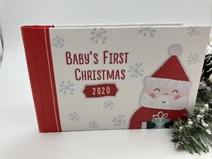 Babys First Christmas Photo Album Hallmark Brand New 2020 24 Pages 3x5 Photos