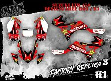 SCRUB DEKOR KIT ATV SUZUKI LTR 450 GRAPHIC KIT FACTORY REPLICA 3 B