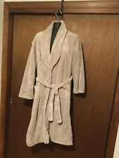 Unisex Brookstore Nap Bath Robe Plush 1 Size Fits Most Beige