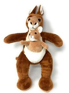 Build A Bear Kangaroo w/ Joey St Louis Zoo Plush 19""