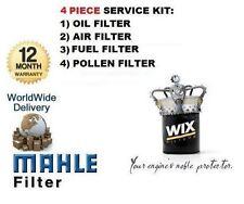 Per HYUNDAI i20 1.1 DIESEL 2012 - & GT Servizio Kit Olio Aria Carburante Polline x2 filtro impostato