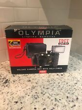 Olympia Lifetime Memories 4000 Big Royal View Deluxe Camera W/Bag New