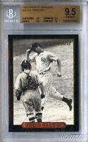 1993 Pinnacle #26 Joe DiMaggio BGS 9.5 GEM MINT 1/1 Yankees