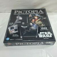 NEW Pictopia: Star Wars Edition Ultimate Picture Trivia Family Board Game #G