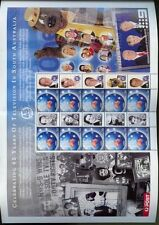 Australia 2004 45 años de la televisión Mnh Hoja
