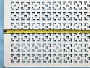Radiator cover grille 3ft x 2ft Dakota design decorative screening panels