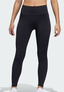 NEW Adidas Believe This 2.0 Primeknit FLW Tights Womens Size Small Black