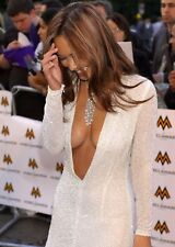 MYLEENE KLASS - BRALESS BOOBS - TWO SEXY A4 SIZE  GLOSSY PHOTOS.