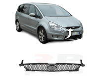 FOR FORD S-MAX 2006 - 2010 NEW FRONT BUMPER UPPER CENTER GRILL NO BADGE