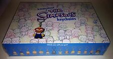 Kidrobot SEALED Case of 20 Blind Boxes --The Simpsons Laser Cut Vinyl Keychains