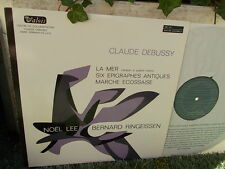 DEBUSSY: La Mer + 6 épigraphes antiques... (piano 4 hands) > Lee Ringeissen LP