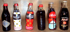 COCA COLA - JOB LOT OF 6 JAPANESE COKE BOTTLES - NEW & RARE - LIMITED EDITIONS