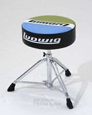 Ludwig Atlas Classic Round Top Drum Throne (LAC49H) - FREE SHIPPING - IN STOCK!