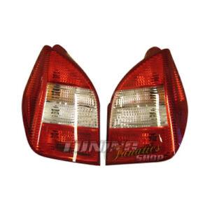Original Hella Rear Tail Lights Set Red/White For Renault Citroen C2