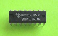 SN84LS163 (= industrial 74LS163 ) SYNC 4-BIT BINARY COUNTER   TEXAS INSTRUMENTS