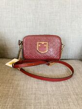 Furla BRAVA Ribes Embossed Leather Crossbody 1036687 B Bwg0 R66