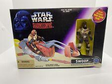 1996 Star Wars Shadows of the Empire SWOOP (Speeder) Vehicle w/Trooper Figure