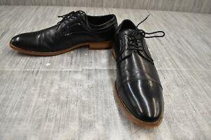 Stacy Adams Dickinson Cap Toe Oxford Shoes, Men's Size 9.5M, Black