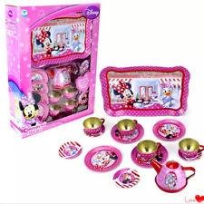 14pcs Tea Party Minnie Mouse Disney Kids Children Pretend Toy Set Teapot Play