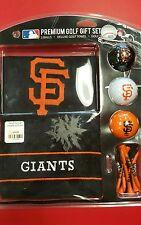 SF Giants Golf Ball& Towel Gift Set