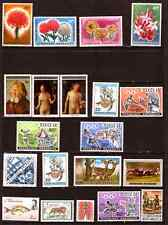 TUTTI I PAESI 20 francobolli nuovi: fiori,opere,sport,animali,vari,332T1