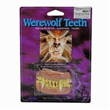 Fake Werewolf  Wolf Teeth Halloween Fancy Dress Accessory P6009