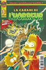 """Bart Simpson présente  """"  La cabane de l'horreur  """""""