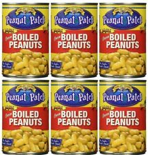 Peanut Patch Cajun Green Boiled Peanuts 6X 13.5 ounce cans