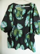 Mossimo  Boho  Peasant Top Shirt Tunic Womens Sz 2X