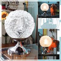 CHROME TULIP VINTAGE MID CENTURY MODERN DESK TABLE LAMP LAMPE WEGNER PANTON ÈRE