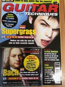 Guitar Techniques magazine & CD: June 1998