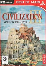 Civilization III (3) - Sid Meier's - PC CD-ROM - BRAND NEW & SEALED
